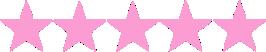 pink stars no bkgr